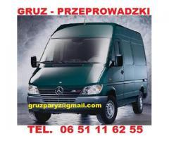TRANSPORT PARYZ
